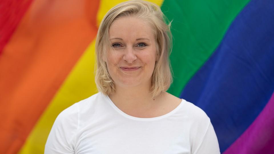 Juntafil på Pride