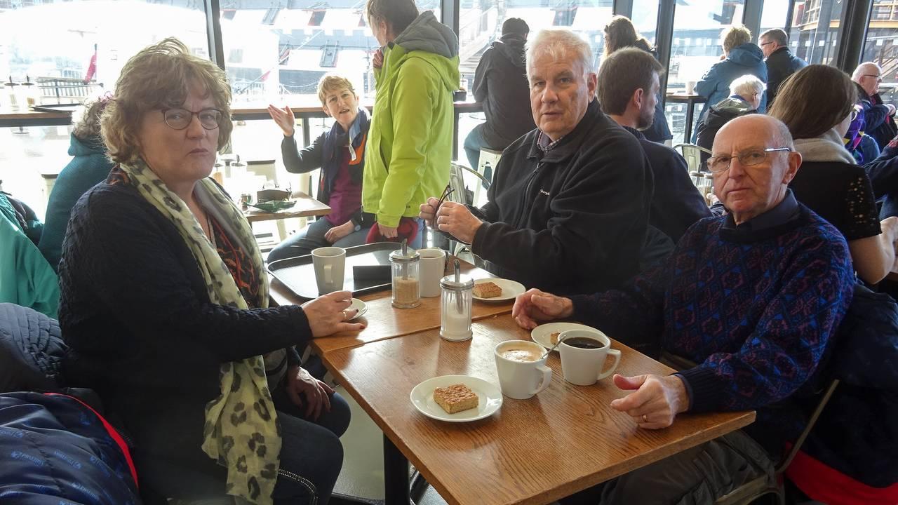 Dette er Albert Faqc og Gaby Herbosch sine feriebilder fra turen med Hurtigrutens Fridtjof Nansen i mars 2020. Lilian Harteveld og Johan Harteveld var også med på turen. Privat
