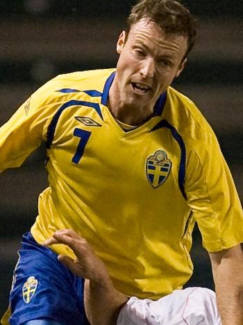 Markus Jonsson i landslagsdrakt