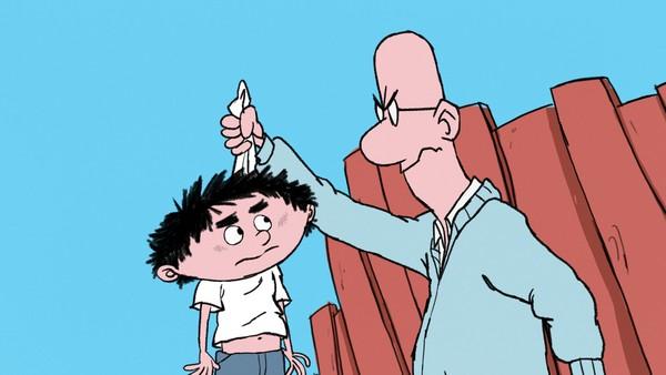 Dansk animasjonsserie om en morsom og litt frekk gutt, som takler verden på sin helt spesielle måte.
