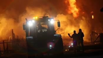 Brann i Lærdal