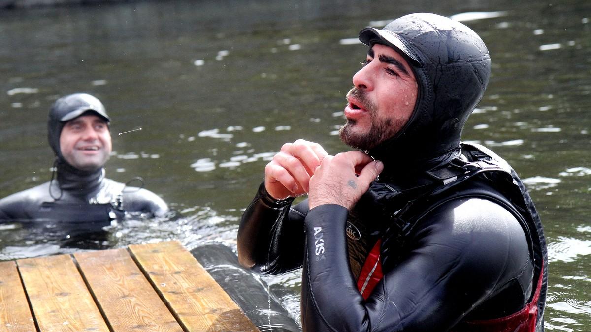 Dilo fra Syria har traumer etter båtflukt over Middelhavet – nå skal han lære å svømme