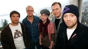 Nicolai Cleve Broch, Kyrre Haugen Sydness, Knut Joner, Jacob Oftebro og Aksel Hennie