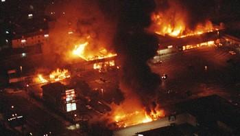 Opptøyer i LA på grunn av Rodney King