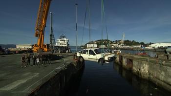 Norges tøffeste - bil i vann