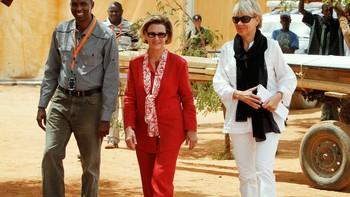 Dronning Sonja i Dadaab