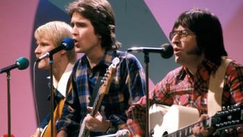 New Jordal Swingers på scenen under den norske Melodi Grand Prix-finalen i 1978.