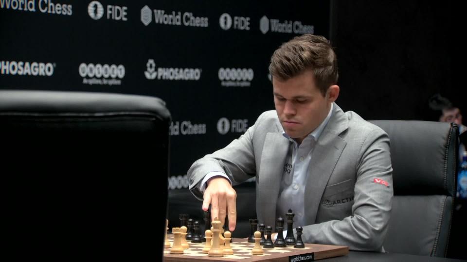 Opptak · VM sjakk: Parti 8