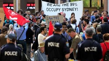 Demonstrasjon i Sydney