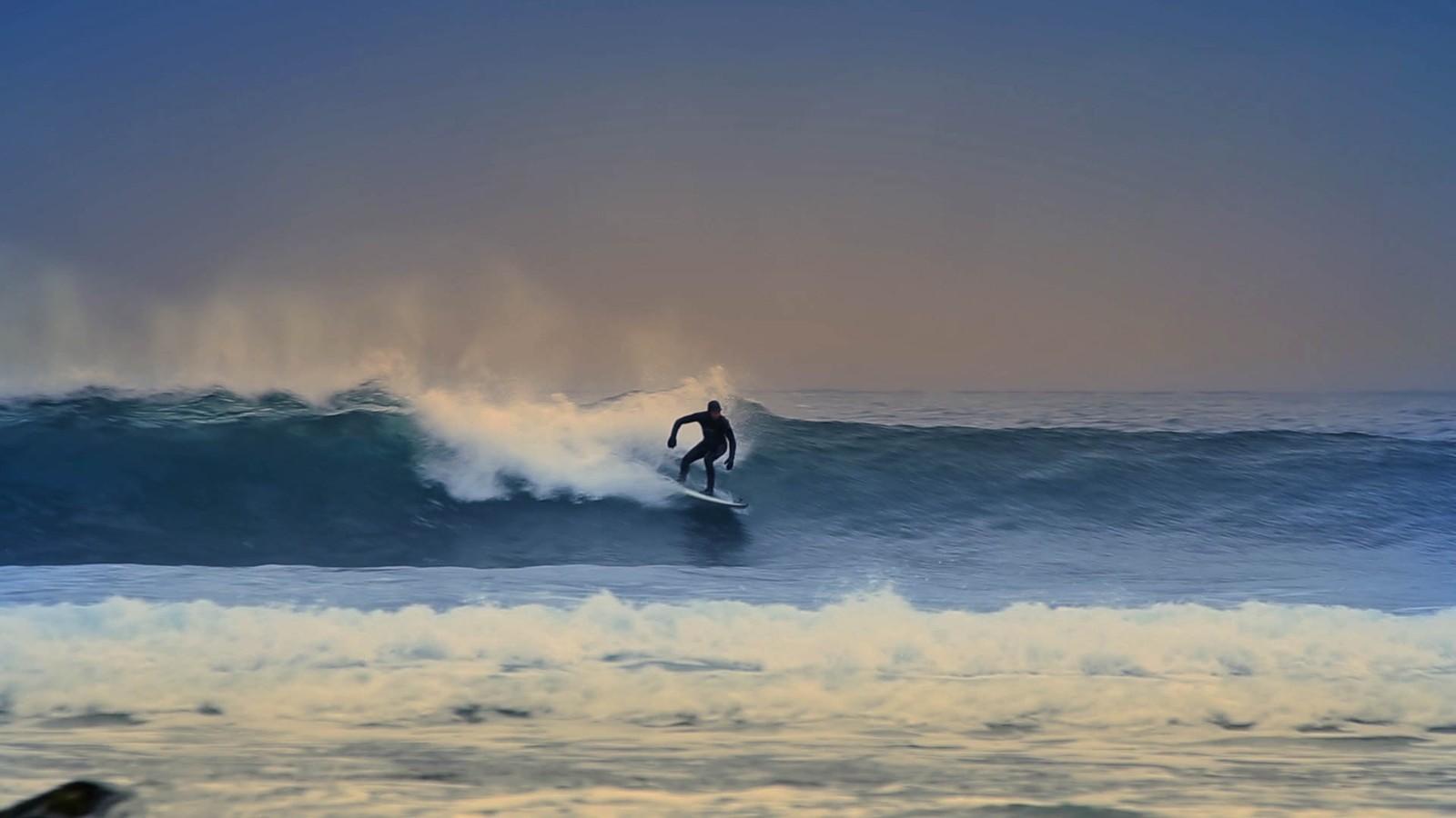 Surfing i Vesterålen.