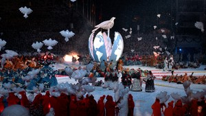 OL på Lillehammer: Åpningsseremonien