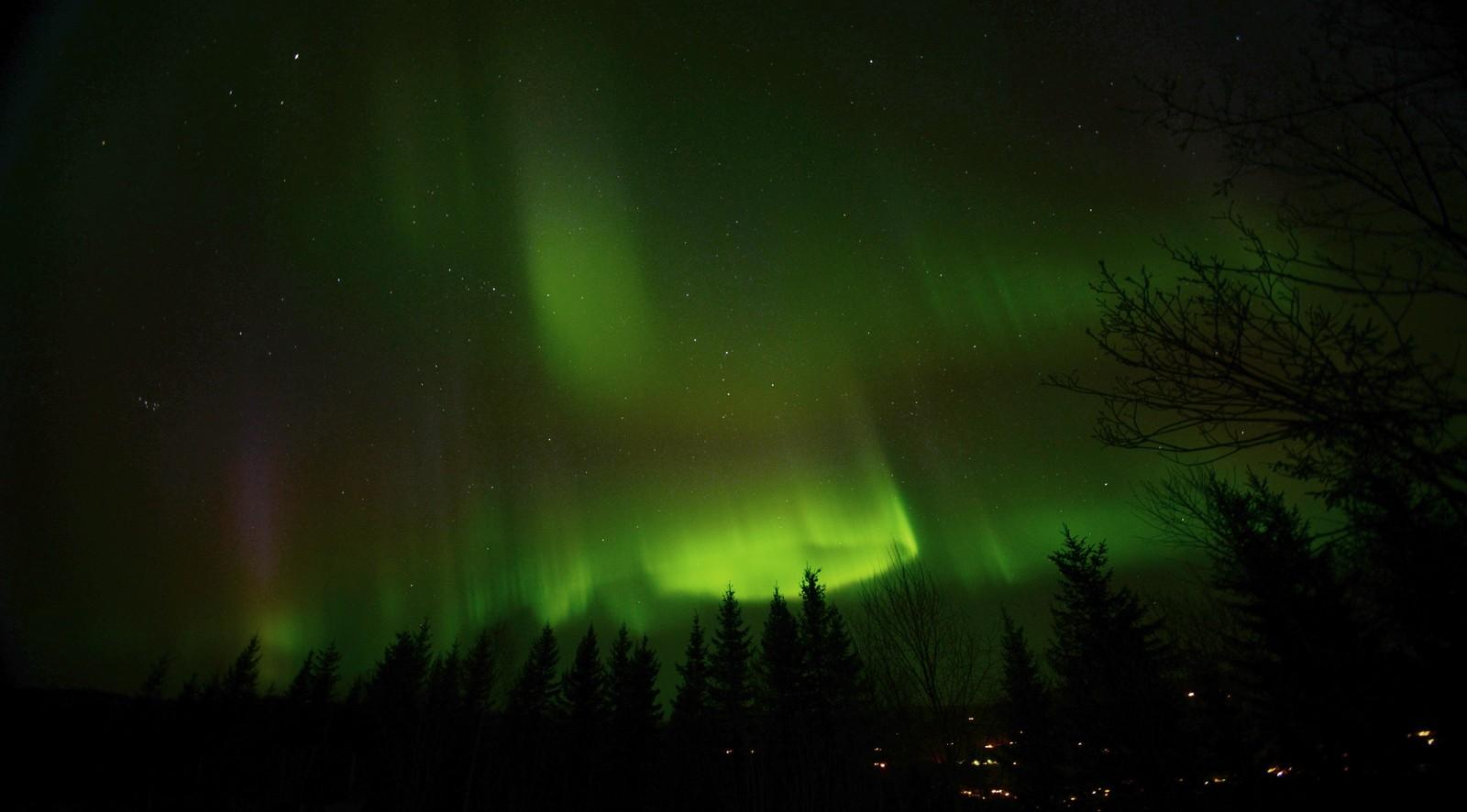 Nordlys over Mosvik