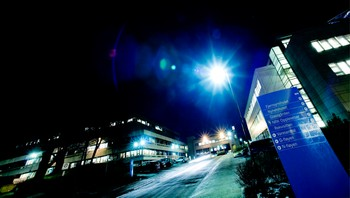 NRKs hovedkvarter på Marienlyst i Oslo