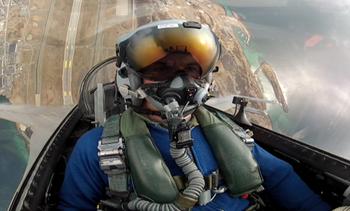Video F16-pilot Eskil Amdal
