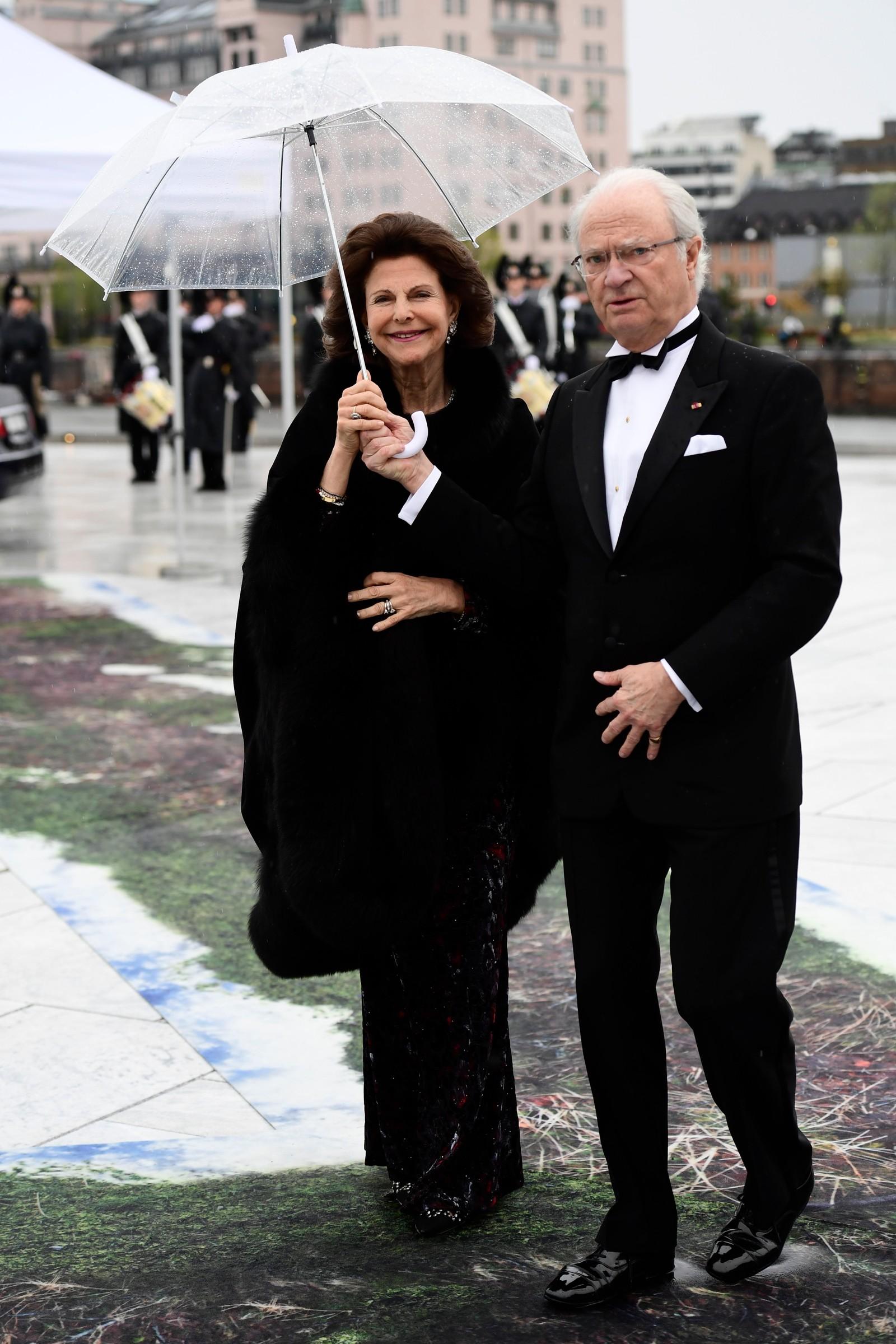 Det svenske kongeparet.