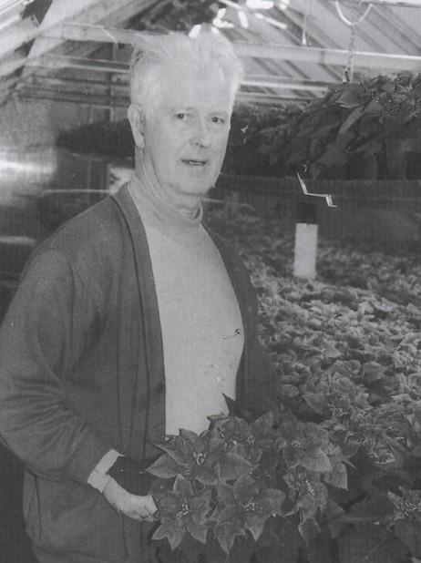 Olav O. Tenold i Vik Gartneri. Foto frå Pridlao.