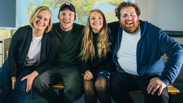 Norges viktigste radiosending har startet.