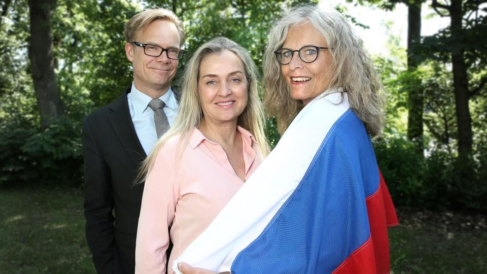 Russland og Norge