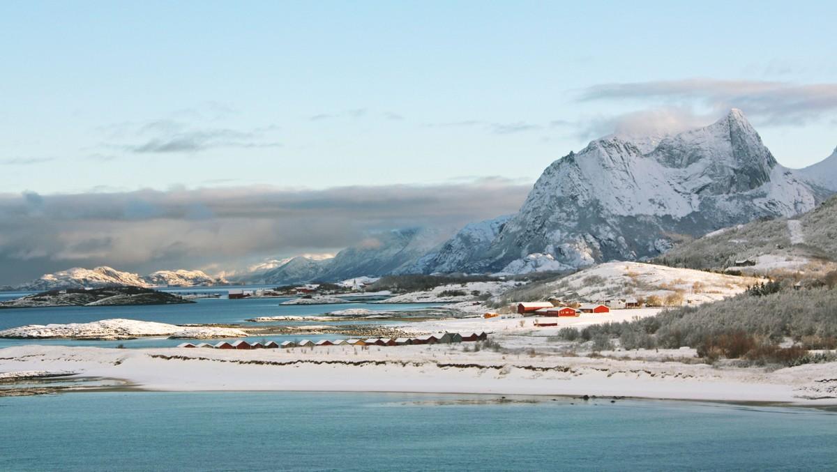 Kjerringøy i Salten er et av områdene som er rammet av strømbruddet.