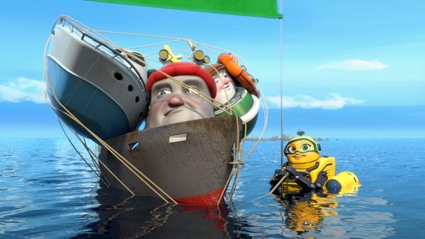 Norsk animasjonsserie. Bøyer til besvær. Redningsskøyta Elias bor i Lunvik, og sammen med sine gode venner Helinor og Duppe redder de båter i alle mulige situasjoner.