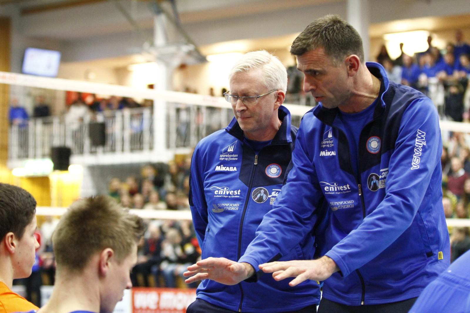 RO: Jan Egil Tvinde oppmoda disiplane til å følgje slagplanen.