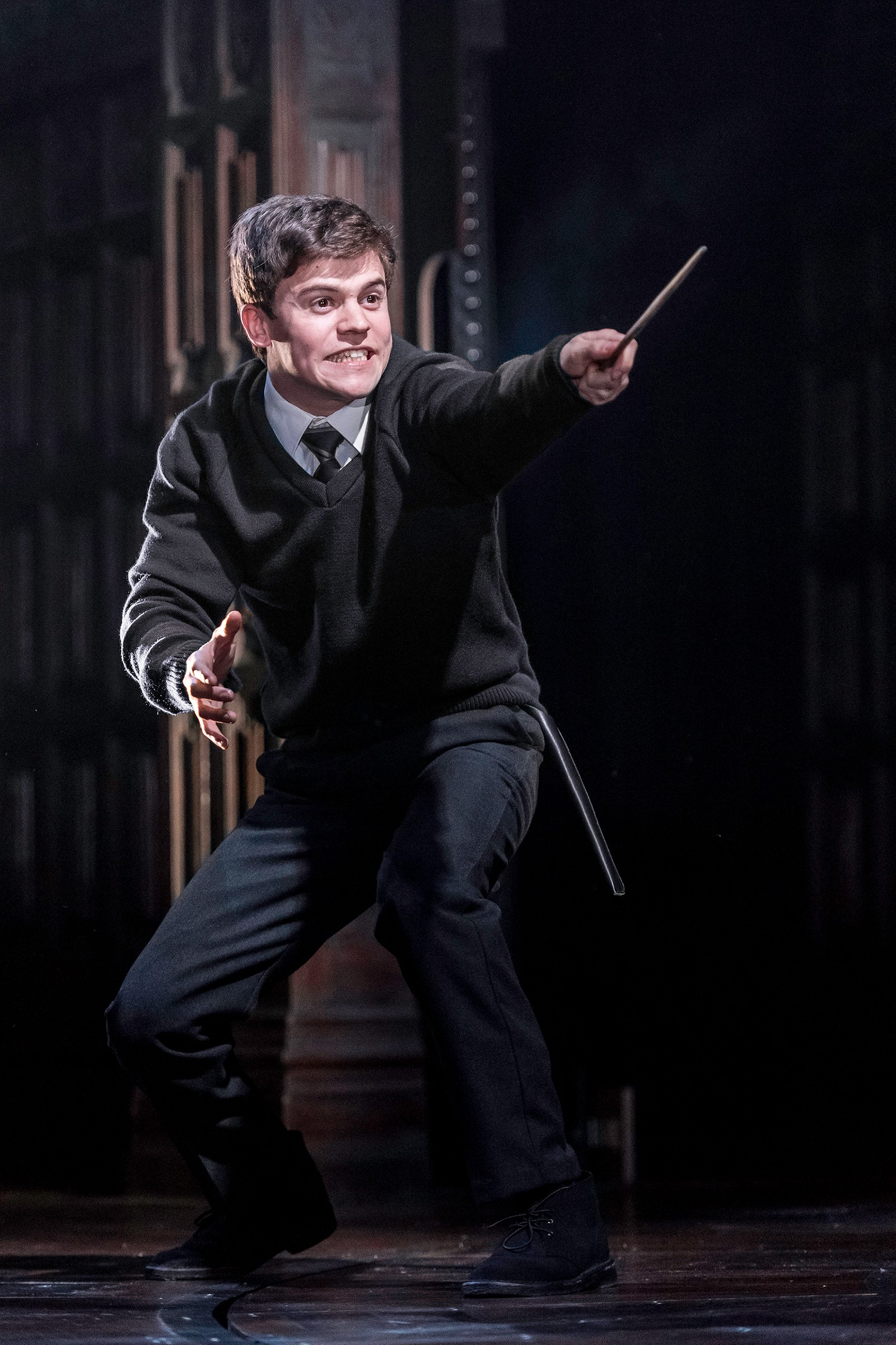 POTTERS SØNN: Mye av historien i «Harry Potter and the Cursed Child» kretser rundt Harry Potters sønn, Albus Potter (Sam Clemmett).