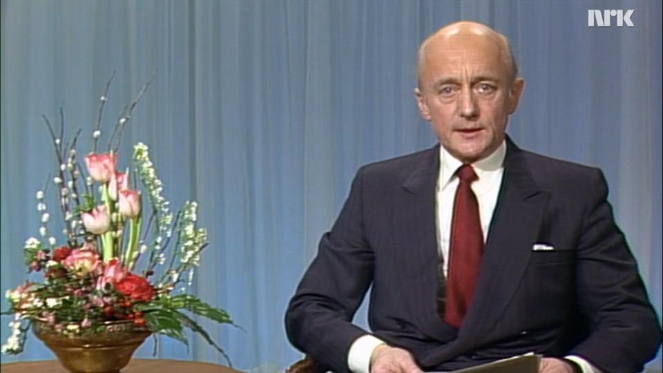 Statsministeren taler: Kåre Willoch 1986