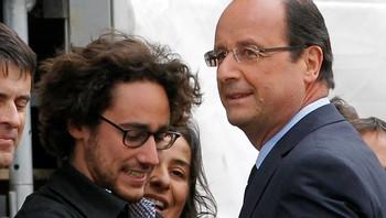 Francois Hollande og sønn