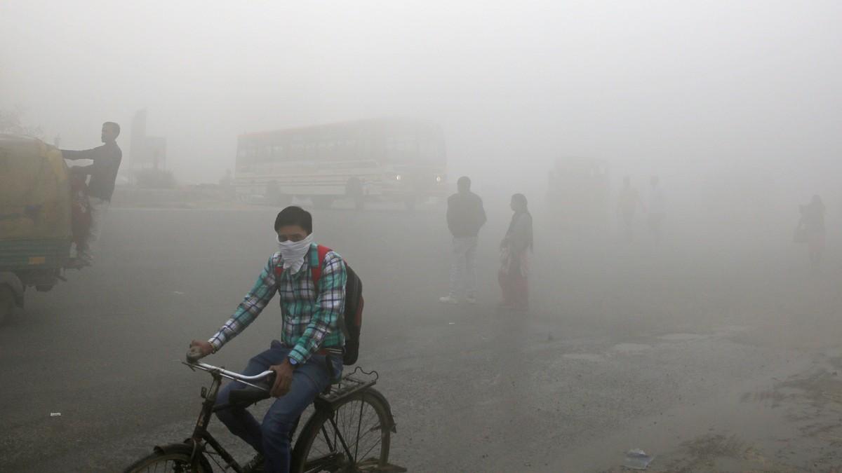 Rapport: Sju milliarder lever med usunn luft