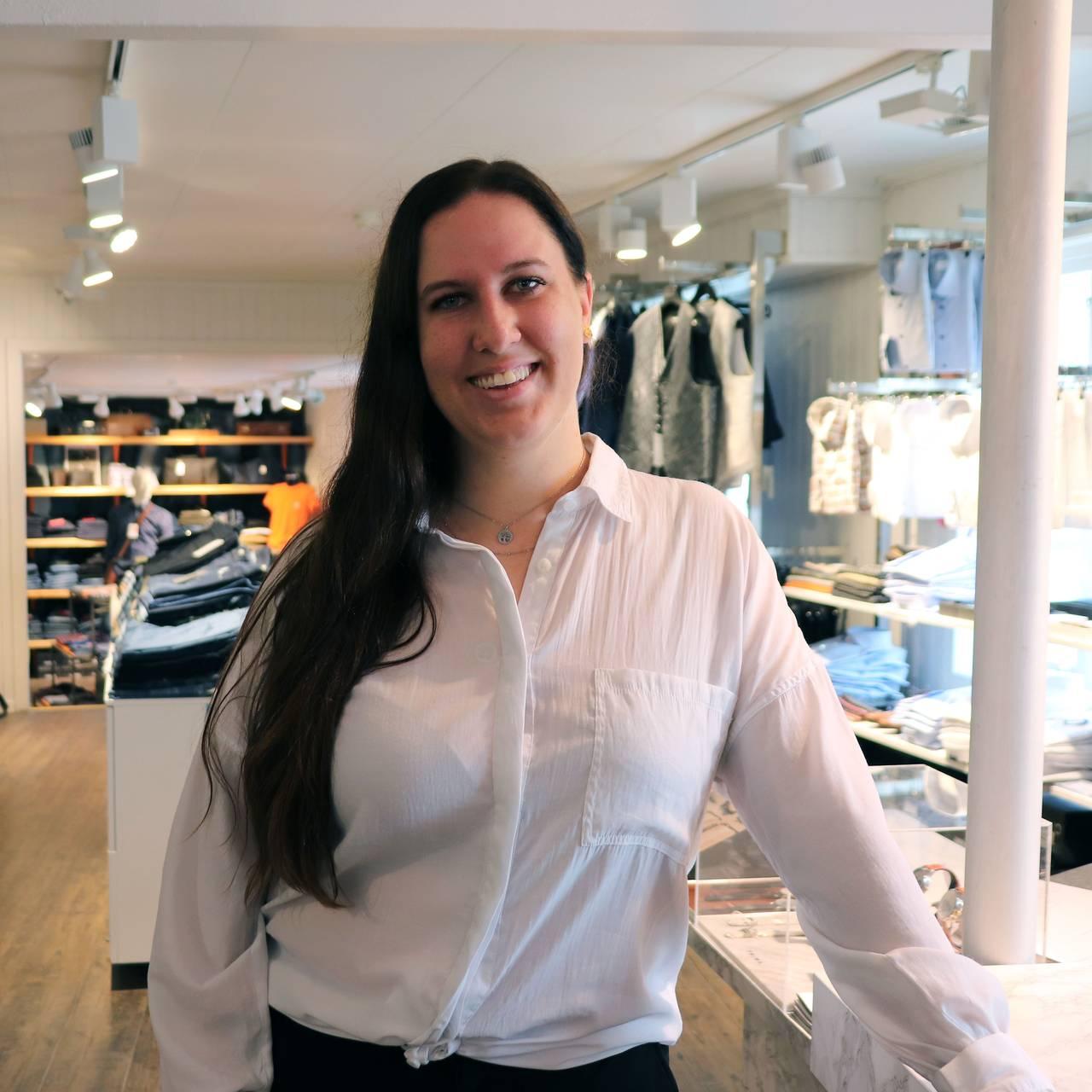 Rikke Lolk Norvik, butikkdriver og leder i Røros handelstand