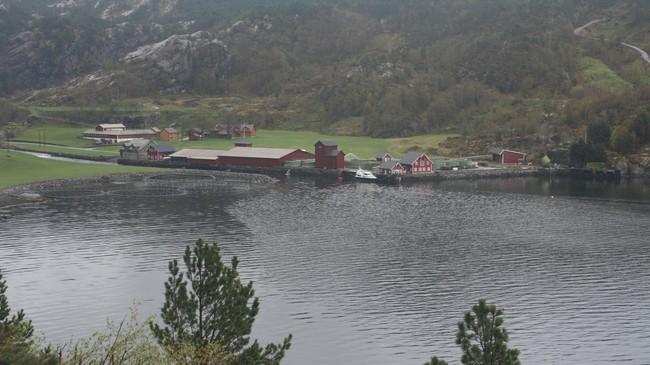 Haukå Settefisk. Foto: Ottar Starheim, NRK.
