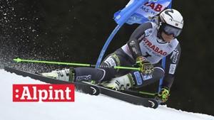 Alpint: Storslalåm 1. omgang, kvinner