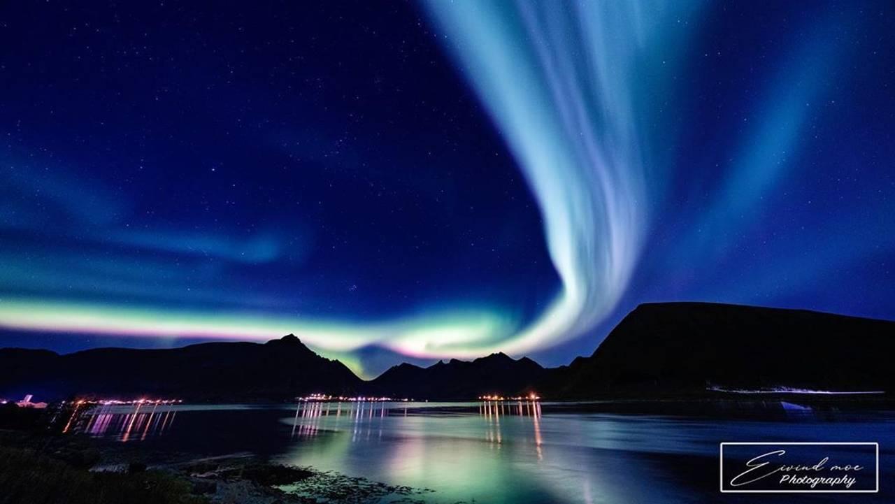 Nordlys over Lofoten