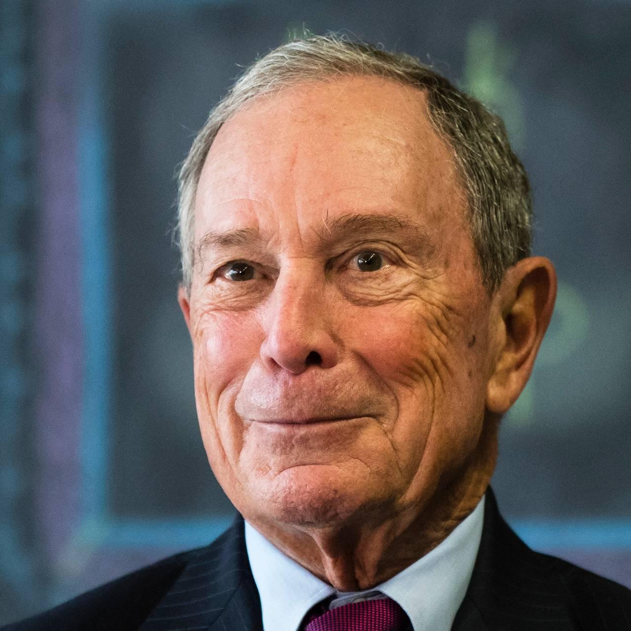 Bilde av Michael Bloomberg