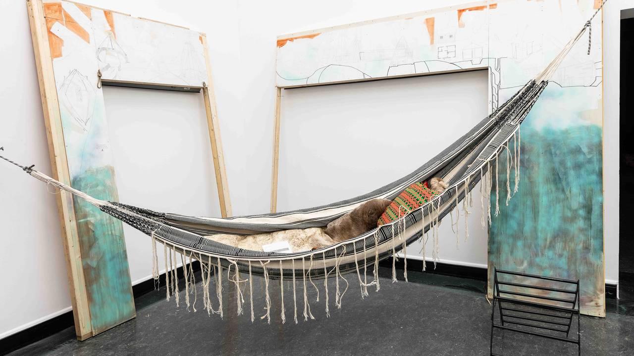 Fra Joar Nangos Festspillutstilling i Bergen Kunsthall.