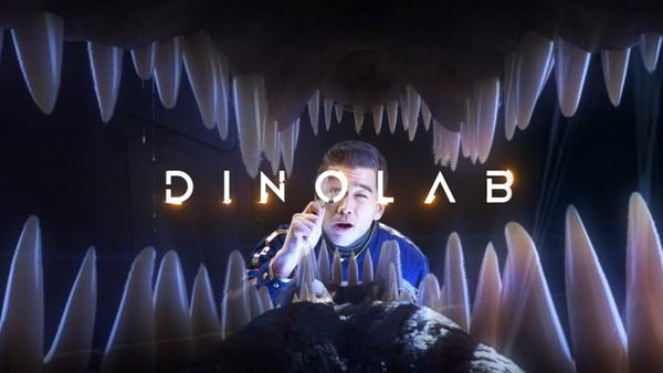 Mathias får besøk av dinosaurer fra millioner av år tilbake.Svensk-norsk faktaserie.