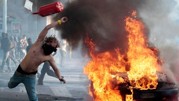 Demonstrasjon i Roma