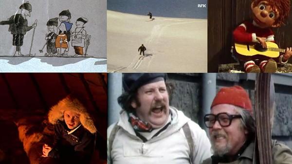 Fjellvett_NRK - Siden dagens fjellvettregler ble lansert i 1967 har NRK gjort en rekke forsøk på å oppfordre det norske folk til trygg ferdsel i fjellet. - Foto: Skjermdump NRK