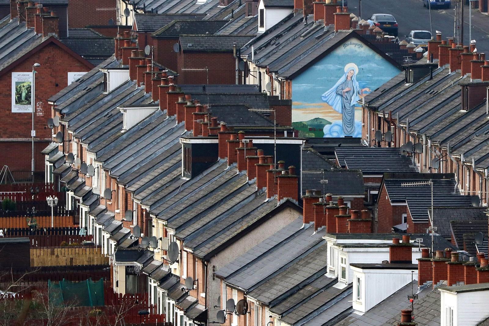 Bydelen Ardoyne i Belfast.