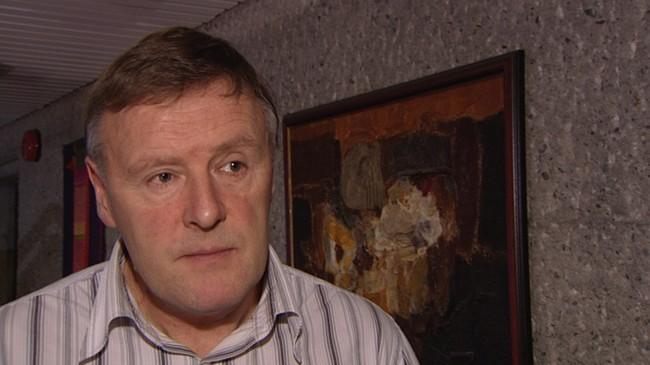 Ordførar Kåre Olav Svarstad fekk mykje å svare for då Terra-skandalen vart kjend. Foto: Torje Bjellaas, NRK.