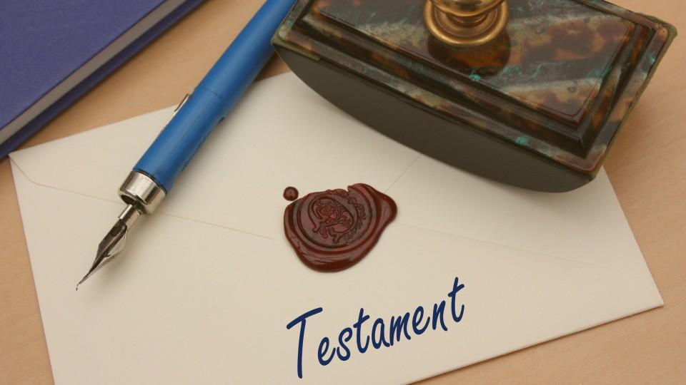 Det forsvunne testamentet