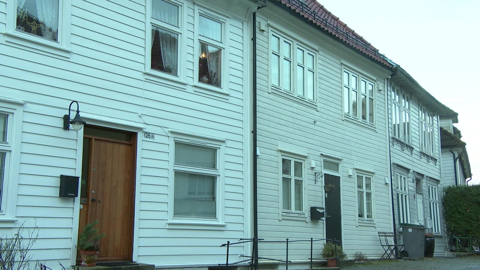 Hvite hus.