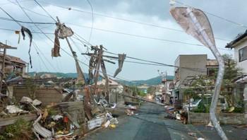 Japan tornado