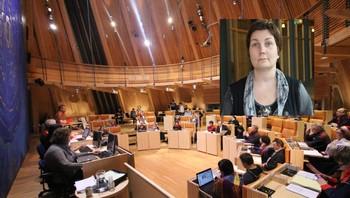 Sametingets plenum og Aili Keskitalo