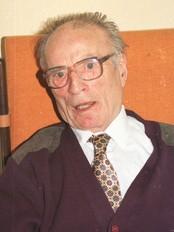 """Per Dingsøyr var redaktør i 33 år. Ikkje rart at avisa gjekk under namnet """"Dingsen"""". Foto: Rune Sviggum."""
