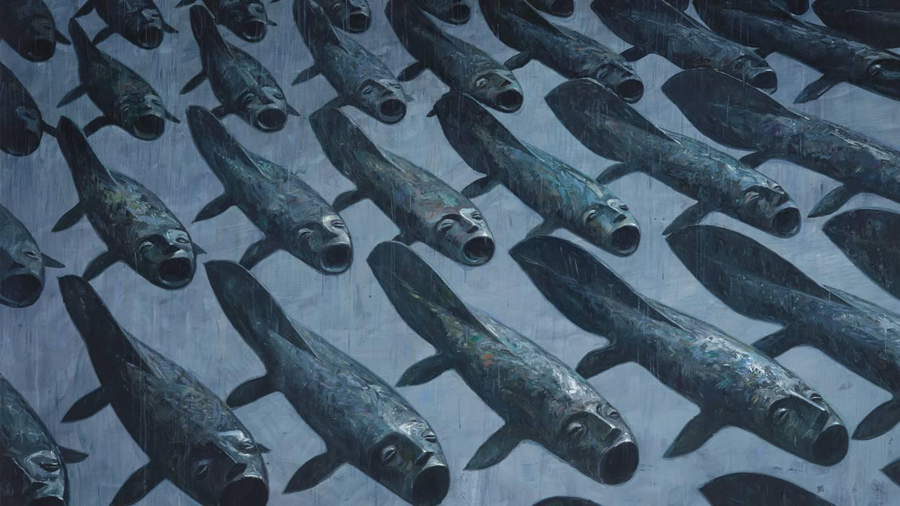 Shaun Tan, Fortellinger fra indre by - Lungefiskene
