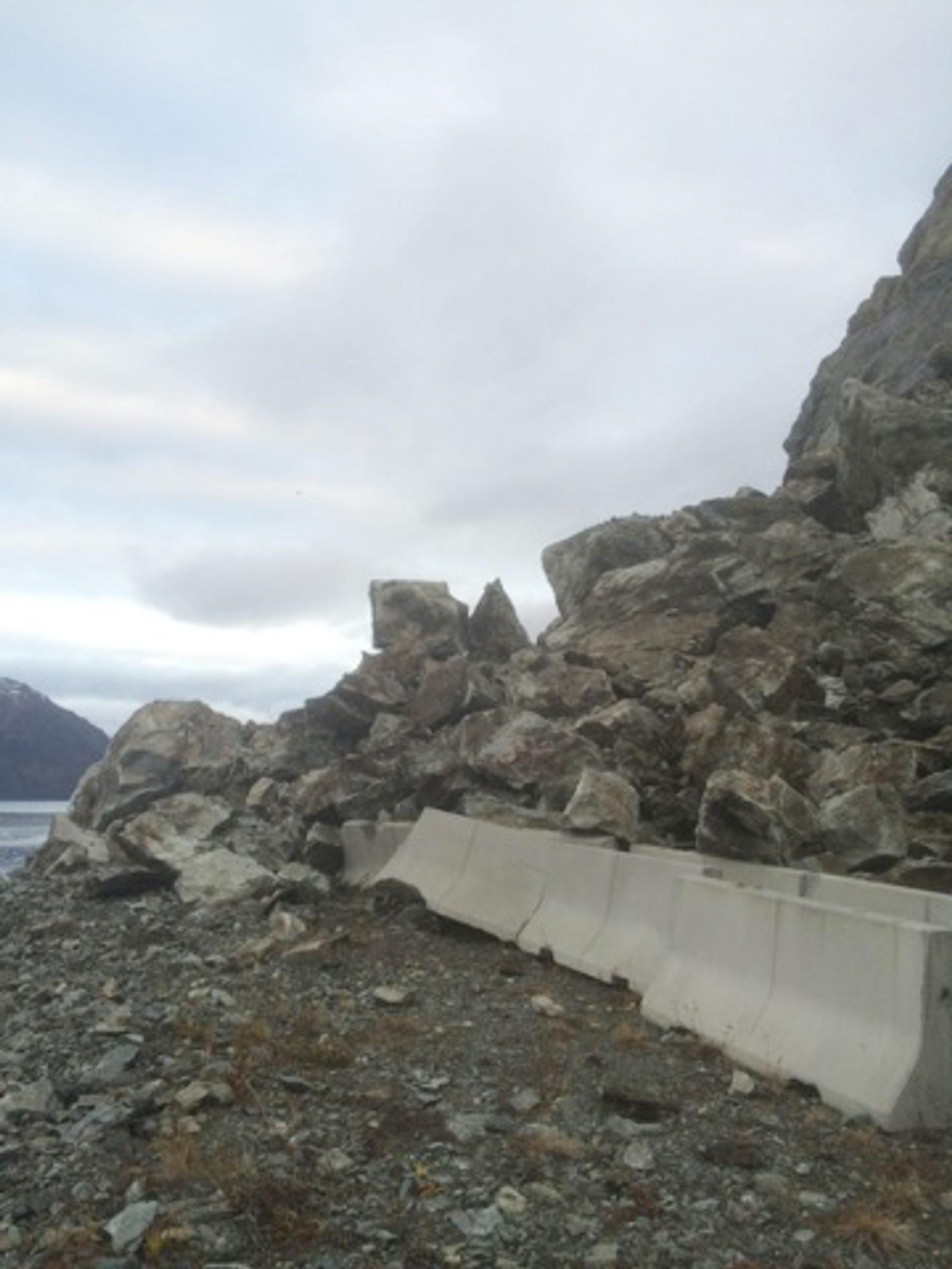 Ras utenfor Lille Lerresfjord.