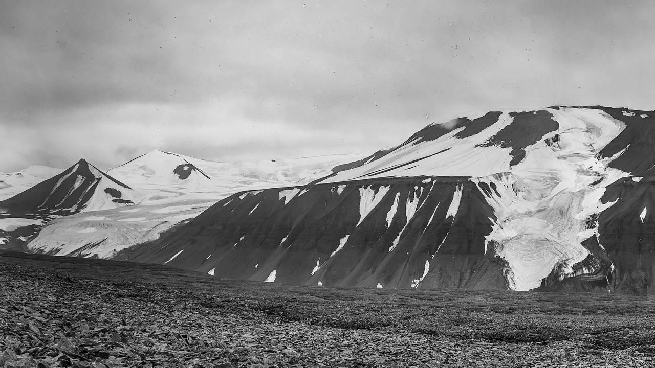 Breinosa på Svalbard 1914
