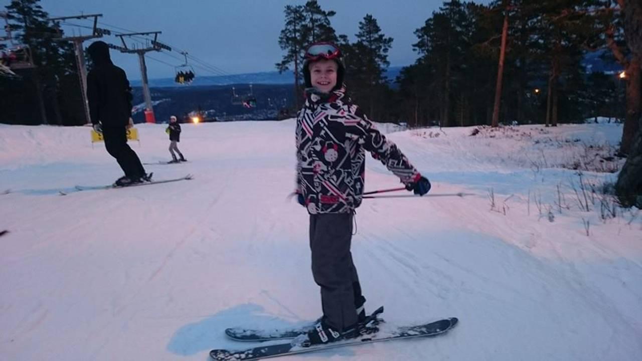 Joakim Visnes, alpint, Kongsberg skisenter, 10 år