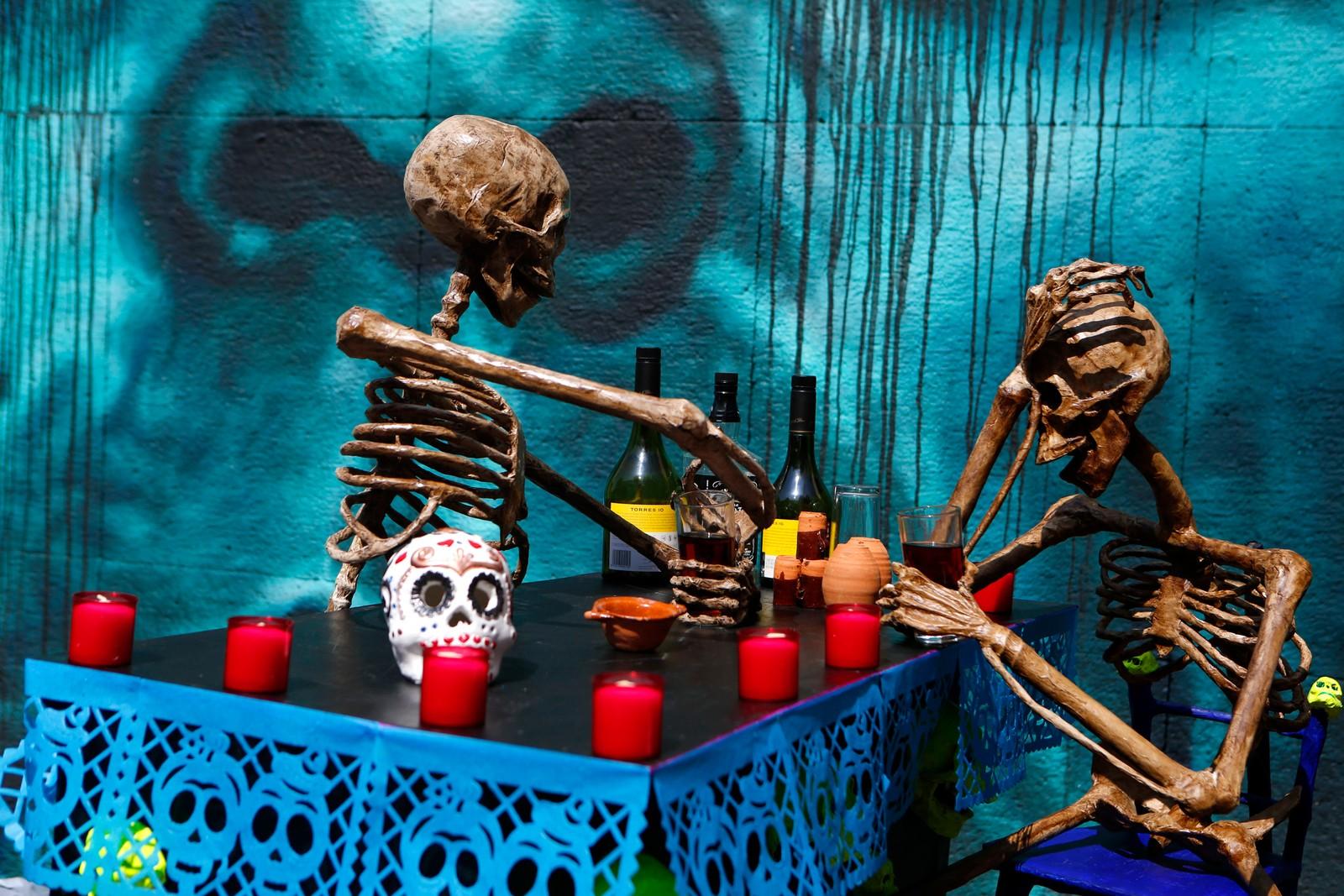 I Mexico har de feiret De dødes dag lenge.